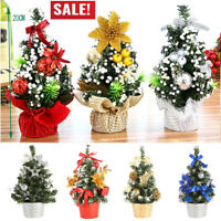 Artificial Tabletop Mini Christmas Tree Decor Home Festival Party Gift Tree 20cm