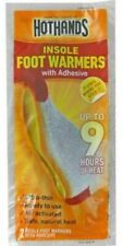 5 PAIRS OF HOTHANDS INSOLE FOOT WARMERS UP TO 9 HOURS OF HEAT, ODOR ABSORBING