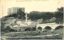 SUZE-LA-ROUSSE 308 vue à l'est pont sur le lez écrite