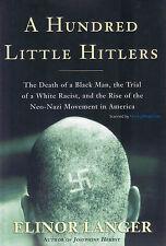 NEW Hitler BOOK A Hundred Little Hitlers - Elinor Langer Hardback