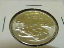 2017 UNC 20 cent coin from MINT ROLL in2x2 holder