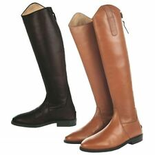 Zip 100% Leather Narrow (2A) Boots for Women