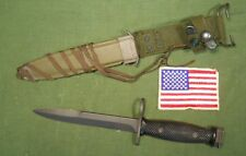 M7 Imperial Knife Issued 1973 with 1965-69 PWH Scabbard - Vietnam War Production