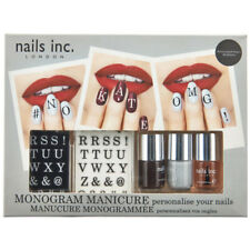 Nails Inc - Monogram Manicure Nail Art Letters Polish Enamel Set Kit NailsInc