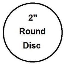 "2"" Round, 3 Coat Process Sublimation Aluminum Blank Disc- Lot of 100PCs"
