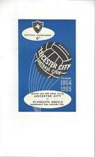 Leicester City League Cup Home Teams L-N Football Programmes