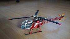 Fuselage-Kit sa 315b Lama 1:32 (Air-Zermatt) pour Blade MCPX et MCPX BL