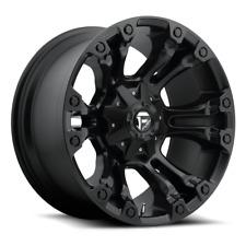(4) 20x10 Fuel Matte Black Vapor Wheel 5x139.7 & 5x150 For Ford Jeep Toyota GM