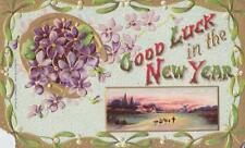 """""""Good Luck in the New Year"""" Post Card"""