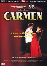 CARMEN - DVD - OPER IN DREI AKTEN von GEORGES BIZET - Live-Aufnahme Auf Schalke