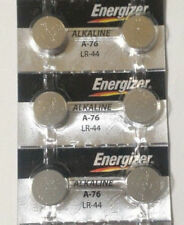 6 Fresh Genuine Energizer A76 LR44 AG13 357 157 303 Alkaline Battery Exp 2020