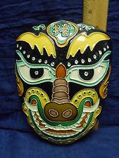 Plaster Wall Mask decoration
