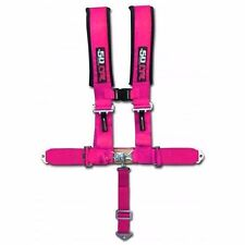 "Pink Racing Harness Seat Belt 5 Point 2"" Ford Chevy Dodge Drag Race Car Truck"