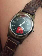 Elmo Sesame Street General Store By Fossil Collectable Watch Rare Leather Band