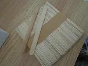 50 lolly sticks great for crafts , children's games , school projects etc L@@K