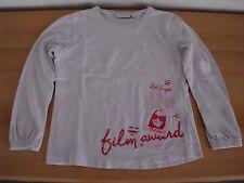 Shirt,Langarmshirt,Pulli,Pullover,Mädchenpulli Gr116/122 TomTailor weißRundhals