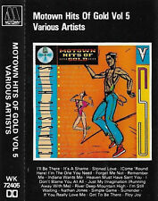 MOTOWN HITS OF GOLD VOL 5 CASSETTE JACKSON 5 ROSS SUPREMES MIRACLES MICHAEL