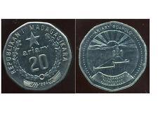 MADAGASCAR 20 ariary 1994