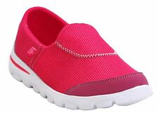 NEW WOMEN'S SPORT GYM MEMORY FOAM SLIP ON CASUAL LADIES GO WALK SHOES TRAINERS