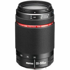 New PENTAX HD DA 55-300mm f/4-5.8 ED WR Lens K Mount  Pentax-DA
