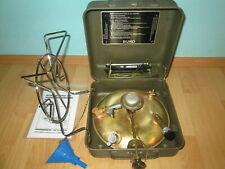 Petroeum DDR TULA   Messing Camping Kocher Dieselkocher Nostalgie Notkocher Bw