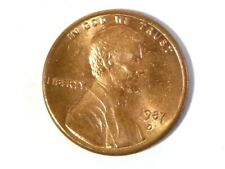 U.S.A. 1987 D Lincoln One Cent Coin #V43