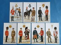 The British Army The Queen's Guards Postcards Set of 7 by Geoff White Ltd