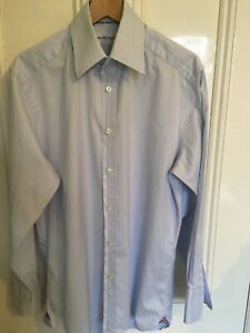 """Mens Marks And Spencer Autograph Shirt 16"""" Collar"""