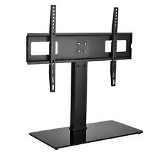 "Flat Tv Wall Mount with Glass Shelf Av Dvd Component Console Stand Fits 32""-63"""
