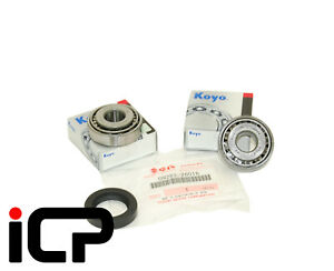 Front Axle Kingpin Swivel Joint Bearings & Halfshaft Oil Seal For Suzuki Jimny