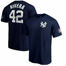 Mariano Rivera Majestic Men's 2019 Hall of Fame Induction Name & Number Shirt
