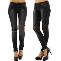 Women Skinny Jeans Top Clubbing Ladies Skinny Trouser Grey Pant Size 8 10 12 14