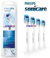 4 GENUINE PHILIPS SONICARE PRORESULTS HX9034/12 GUM HEALTH CARE BRUSH HEADS SA