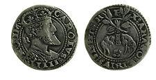 pcc1837_3) NAPOLI Carlo V Imp (1516 - 1554) Carlino busto Coronato / Tosone