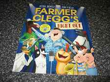 FARMER CLEGG'S NIGHT OUT BY PETER BENTLY AND JIM FIELD SOFTCOVER BRAND NEW