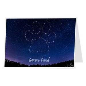 Dog Sympathy Card In Memory Of Pet Loss Condolences