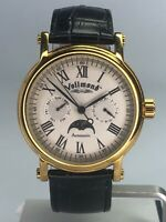 Men's Vollmond Automatic Watch 18K GP 24 Jewel Water Resistant Made in China