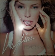 2002 Kylie Minogue Fever Super Rare 10x10 Promo Poster Creases Throughout