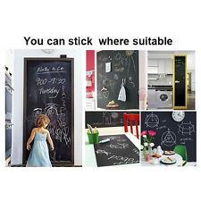 CHALKBOARD BLACKBOARD Removable Vinyl Wall Decal Sticker Indoor or Outdoor