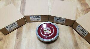 SET OF 4 NIB NOS Cadillac Eldorado DeVille Seville Wire Wheel Center Caps 81-85