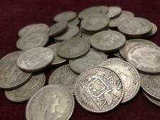 3 X MIXED DATE .500 SILVER FLORIN COINS POST 1945