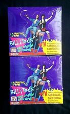 (2) 1991 Pro Set Bill & Ted's Most Atypical Movie Cards Sealed Boxes Case Fresh!