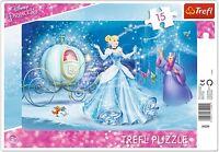 Trefl 15 Piece Baby Kids Girls Infant Magical Princess Frame Jigsaw Puzzle NEW