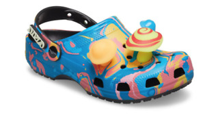 Size 7M / 9W Diplo x Crocs Classic Clog in hand