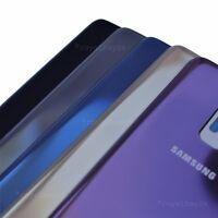 SAMSUNG Galaxy S9 Glas Akkudeckel Rückseite Schwarz Blau Grau Gold Lila NEU WoW!
