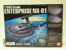 NX-01 Star Trek 1/850 Maßstab U.S.S Enterprise Bandai Nicht Montiert F/S Von