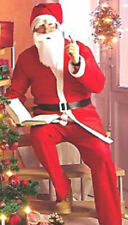 1 Weihnachtsmannkostüm / Nikolauskostüm 5 teiliges Set portofrei