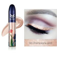 7 Colors Waterproof Shimmer Eyeshadow Glitter Liquid Eyeliner Metallic Cosmetic 3#