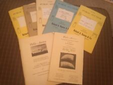 Lot of Used Bourne scrimshaw catalogs maritime good condition. Early 60s 70s