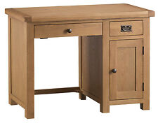 Montreal Solid Oak Computer Desk - Premium Home Office Furniture